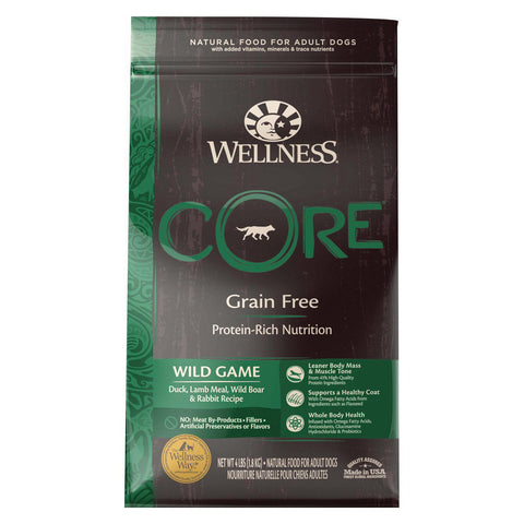 Wellness Core Wild Game - Dry Formula - Case Of 6 - 4 Lb.