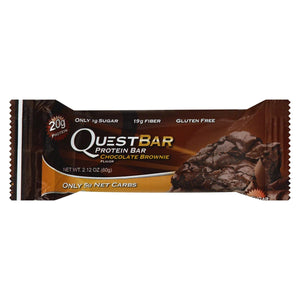 Quest Bar - Chocolate Brownie - 2.12 Oz - Case Of 12