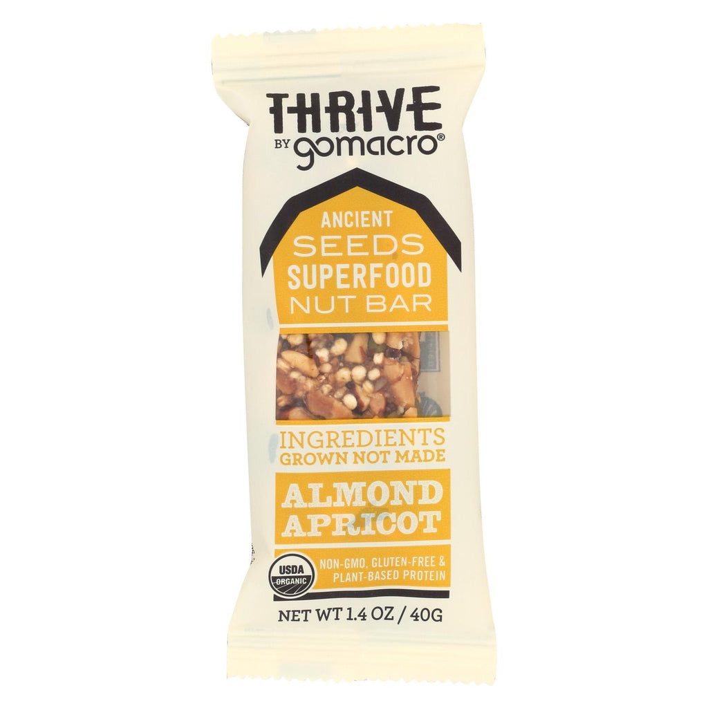 Gomacro Thrive - Curry Apricot - Case Of 12 - 1.4 Oz.
