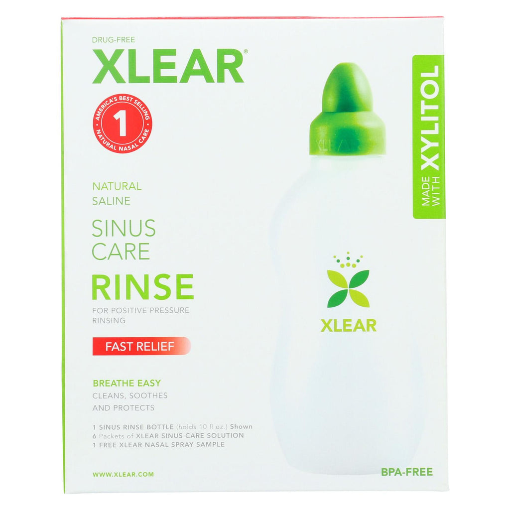 Xlear Sinus Care Rinse System With Xylitol - Case Of 1