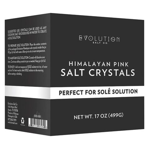 Evolution Salt Sole Crystals - Refill - 17 Oz