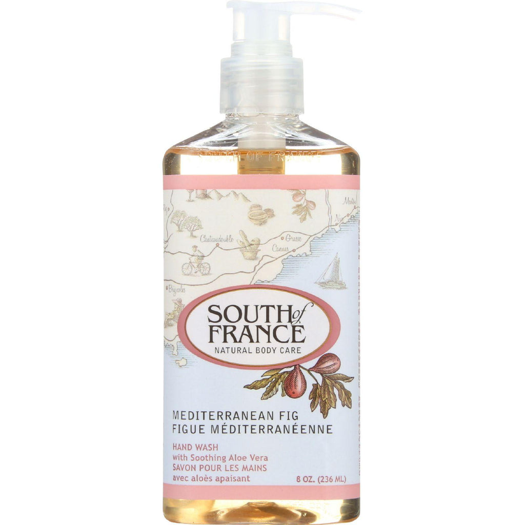 South Of France Hand Wash - Mediterranean Fig - 8 Oz - 1 Each
