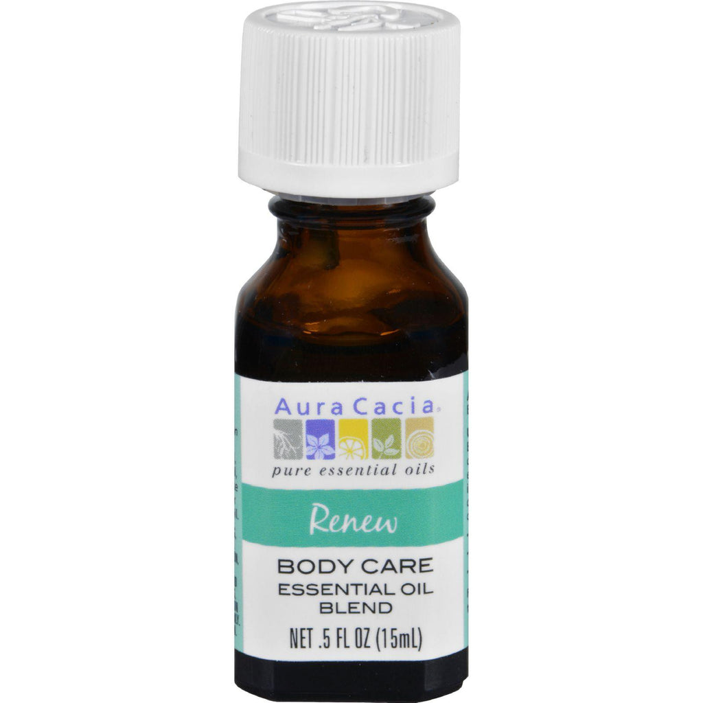 Aura Cacia Essential Oil Blend - Body - Renew - .5 Oz