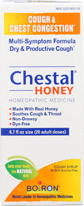 Boiron Chestal - Cough And Chest Congestion - Honey - Adult - 6.7 Oz