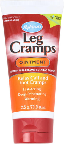 Hylands Homeopathic Leg Cramps - Ointment - 2.5 Oz