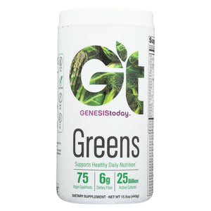Genesis Today Genessentials Greens - Vegetarian - Case Of 1 - 15.5 Oz.
