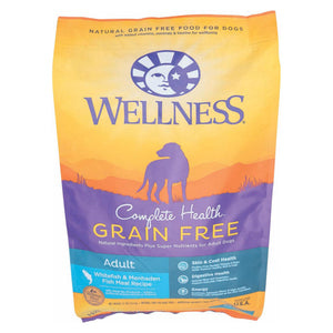 Wellness Pet Products Dog Food - Grain Free - White Fish And Menhanden Fish Recipe - 12 Lb.