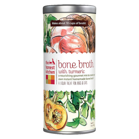 The Honest Kitchen Liquid Treat - Bone Broth - Dog And Cat - Case Of 6 - 5 Oz