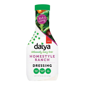 Daiya Foods Homestyle Ranch Dairy - Free Dressing - Case Of 6 - 8.36 Fl Oz.