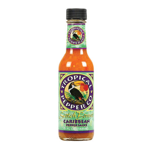 Tropical Pepper Sauce - Scotch Bonnet - Case Of 12 - 5 Fl Oz