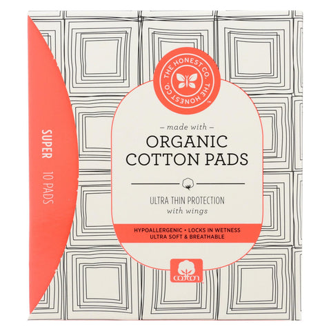 The Honest Company Cotton Pads - Heavy - 10 Count