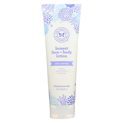 The Honest Company Face And Body Lotion - Dreamy Lavender - 8.5 Fl Oz