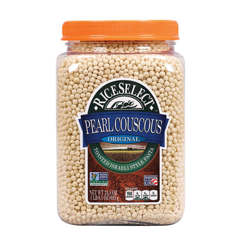 Rice Select Couscous - Pearl - Original Plain - Case Of 4 - 25.5 Oz