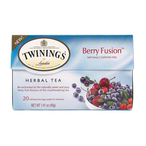 Twinings Tea Tea - Herbal - Berry Fusion - Case Of 6 - 20 Count