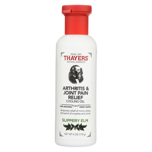 Thayers Slippery Elm Gel - Cooling - 6 Fl Oz