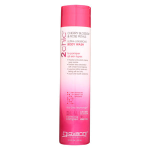Giovanni Hair Care Products 2chic - Bodywash - Cherry Blossom And Rose Petals - 10.5 Fl Oz