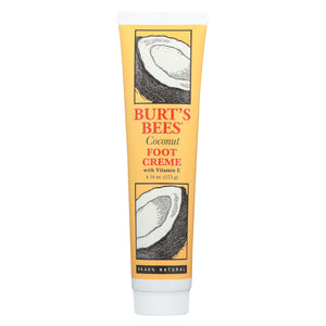 Burts Bees Foot Crme - Coconut - 4.3 Oz