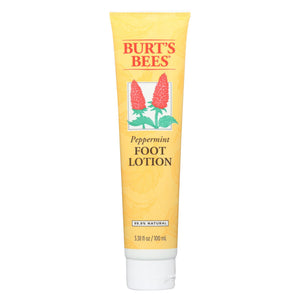 Burts Bees Foot Lotion - Peppermint - 3.4 Fl Oz