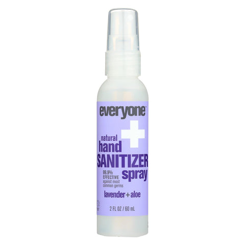 Everyone Sanitizer - Spray - Lavender - Aloe - Case Of 6 - 2 Fl Oz