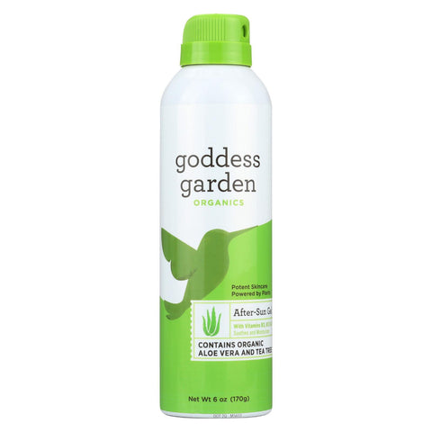 Goddess Garden After Sun Gel - Aloe - Spray - 6 Fl Oz