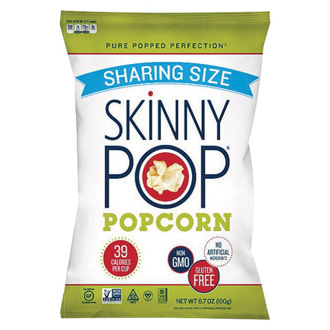 Skinnypop Popcorn Popcorn - Original - Case Of 6 - 6.7 Oz