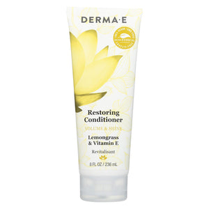 Derma E Conditioner - Volume And Shine - Restoring - 8 Fl Oz