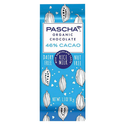 Pascha Organic Chocolate Bar - Rice Milk - Case Of 15 - 1.1 Oz