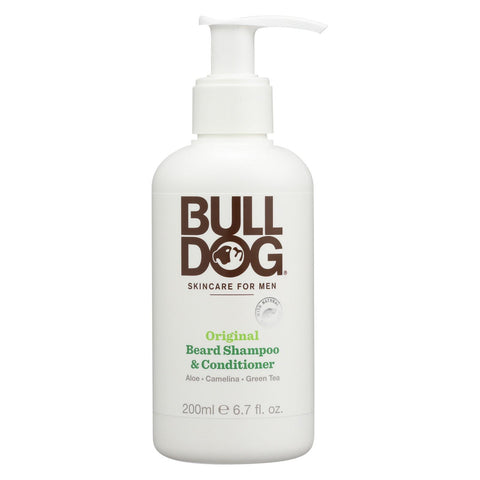 Bulldog Natural Skincare Beard Shampoo - Conditioner - Original - 6.7 Fl Oz