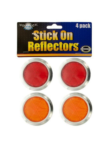 Stick-On Reflectors Set (Available in a pack of 24)