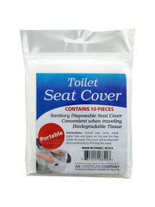 Disposable Toilet Seat Covers (Available in a pack of 24)