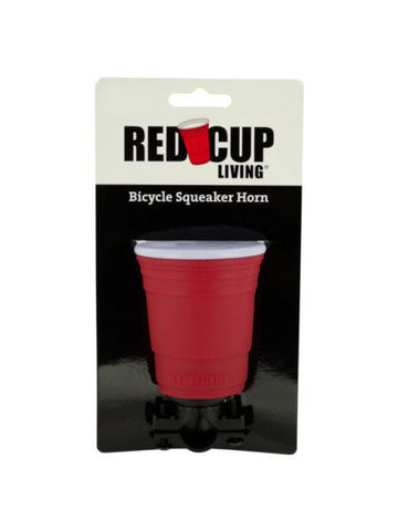 Red Cup Living Bicycle Squeaker Horn (Available in a pack of 16)