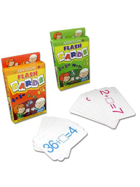 Assorted Jumbo Flashcards (Available in a pack of 24)