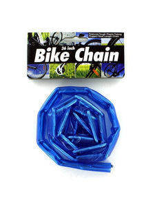 Plastic Coated Bike Chain (Available in a pack of 24)