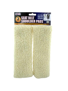 Seat Belt Shoulder Pads Set (Available in a pack of 4)