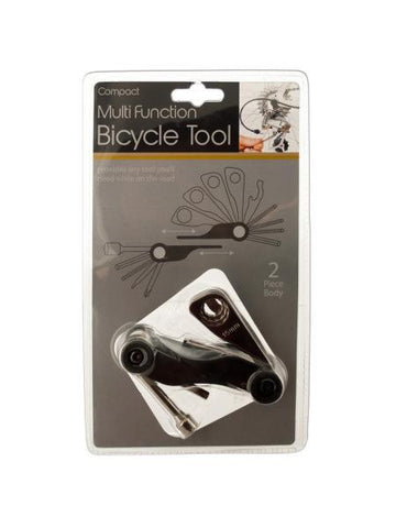 Compact Multi-Function Bicycle Tool (Available in a pack of 4)
