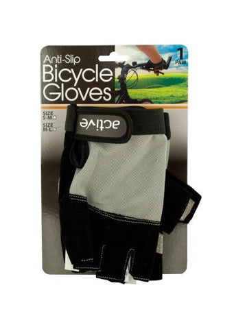 Anti-Slip Bicycle Gloves with Breathable Top Layer (Available in a pack of 2)
