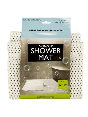 Non-Slip Shower Mat with Suction Cups (Available in a pack of 6)