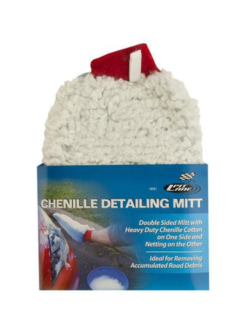 Chenille Auto Detailing Mitt (Available in a pack of 12)