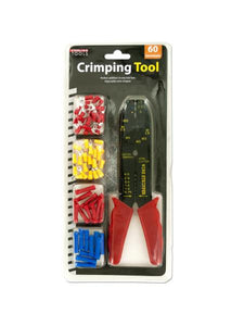 Crimping Tool & Terminals Set (Available in a pack of 4)