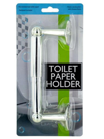 Chrome Color Toilet Paper Holder (Available in a pack of 12)