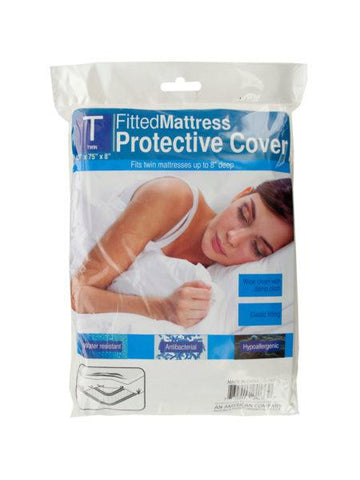 Twin Size Protective Mattress Cover (Available in a pack of 10)