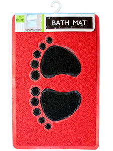 Footprints Massaging Bath Mat (Available in a pack of 6)