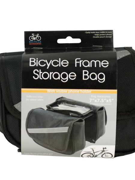 Bicycle Storage Bag with Phone Holder (Available in a pack of 4)