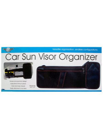 Car Sun Visor Organizer (Available in a pack of 4)