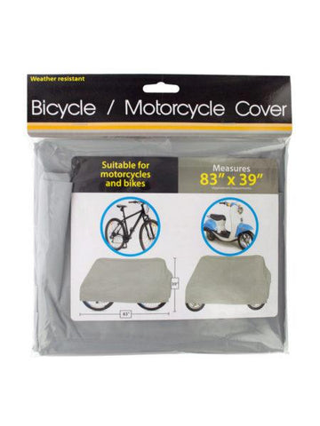 Weather Resistant Bicycle & Motorcycle Cover (Available in a pack of 10)