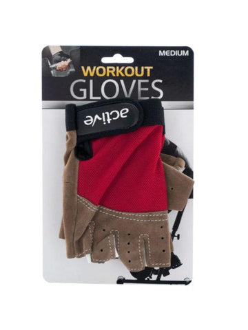 Medium Size Breathable Workout Gloves (Available in a pack of 4)