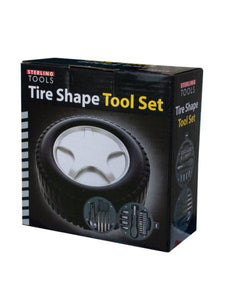 Tire Shape Tool Set (Available in a pack of 4)