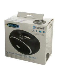 Jensen Bluetooth Wireless Stereo Speaker (Available in a pack of 1)