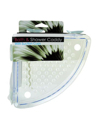 Corner Shower Caddy With Suction Cups (Available in a pack of 8)