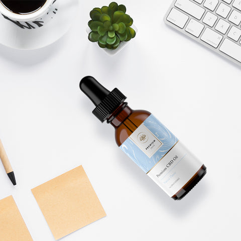600mg 30ml Natural CBD Tincture Full Spectrum